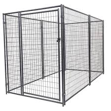 lucky dog 6 ft h x 5 ft w x 10 ft l modular kennel welded wire
