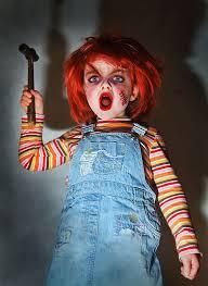 Chucky Halloween Costumes Girls Terrifying Chucky Cosplay Cosplay