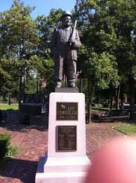 who u0027s on first statue of lou costello paterson nj 180 out