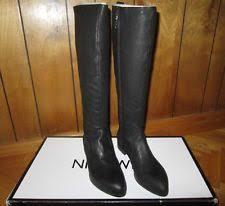 s boots nine nine s zip wear to work knee high boots ebay