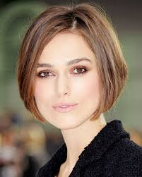 hairstyles short on an angle towards face and back medium short hairstyles for oval faces hair make up beauty