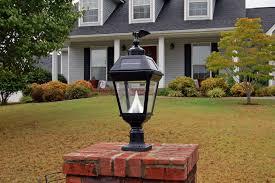 frostfire solar lights solar garden lamp post uk hankodirect decoration