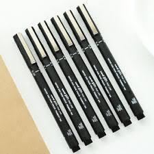 noir encre stylo technique etanche dessin écriture croquis art pen