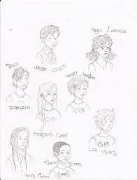 percy jackson characters by readerholic on deviantart