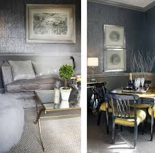 image detail for silver wallpaper living room dining room