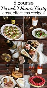 Elegant Dinner Party Menu 17 Best Ideas About Easy Dinner Party Menu On Pinterest Weekly