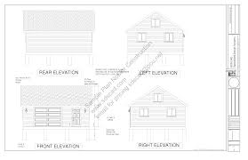 g448 24 x 20 x 8 free pdf garage plans blueprints construction here is the free sample pdf garage plan g448 24 x 20 x 8 garage sample