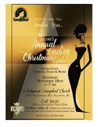 annual ladies u0027 christmas gala