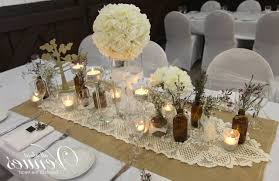 Simple Table Decorations by Vintage Wedding Table Decoration Ideas