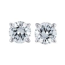 diamond stud diamond stud earrings 1ct steven singer jewelers