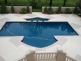painted concrete pool deck home u0026 gardens geek