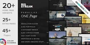 16 best responsive one page joomla templates 2018