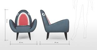 What Is A Armchair Rodnik Shark Fin Chair Made Com