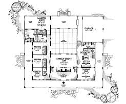 mediterranean home plans with courtyards mediterranean style house plan 3 beds 2 5 baths 2539 sq ft plan
