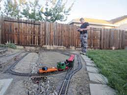 back yard train the story about building a train in my back yard