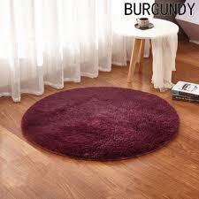 popular round carpet bedroom buy cheap round carpet bedroom lots soft fluffy thick velvet round carpet anti skid toilet floor mat bedroom kitchen doormat carpet