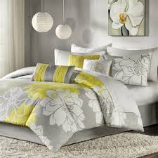 best grey and yellow bedding sets u2013 ease bedding with style