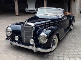 antique mercedes sold 1956 mercedes benz 300sc roadster scott grundfor company