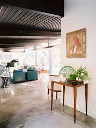 midcentury modern living room hillary thomas hgtv