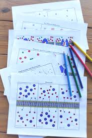 cell transport coloring activities osmosis diffusion for high