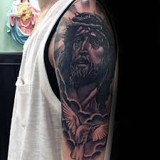 60 jesus arm designs for religious ink ideas