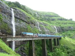 eastern and western ghats scenic railroad pictures railway trains konkan railway track
