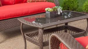 bristol patio furniture set scarlet red 4 piece u2013 la z boy outdoor