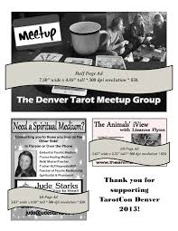 advertise u2013 denver tarot convention