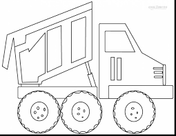 surprising dump truck coloring pages printable with truck coloring