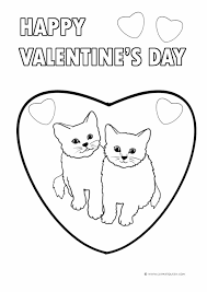 valentine impressive valentines day coloring pages printable