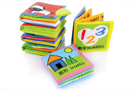 baby books 6 different books set soft baby cloth book early learning