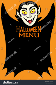 halloween menu background halloween dracula u0027s menu background stock photo 112161131