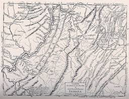 Detailed Map Of Virginia by 1780 To 1784 Pennsylvania Maps