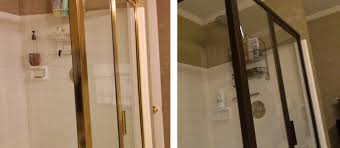 Painting Shower Door Frame Master Bath Low Budget Makeover Your House A Home