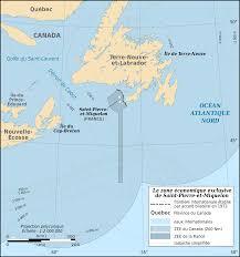 France On Map Saint Pierre And Miquelon Eez Map Fr U2022 Mapsof Net