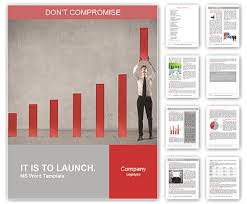 it report template for word annual report word template design id 0000007983