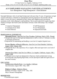 resume for a exle sle attorney resume attorney resume exle sle jobsxs