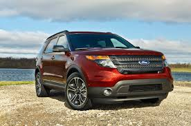 Ford Explorer Truck - 2015 ford explorer reviews and rating motor trend