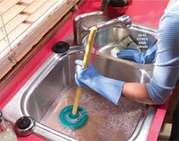 Best Clogged Sink Images On Pinterest Clogs Cleaning Tips - Kitchen sink is clogged