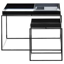 Hay Side Table Hay Tray Side Table Black 40x40 Cm