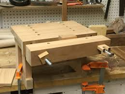 Woodworking Bench Top Plans by Benchtop Bench Jeff Miller Plan By Brodan Lumberjocks Com