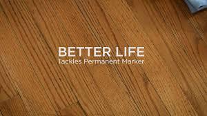 Laminate Floor Scrubber Better Life Natural Kitchen U0026 Bath Scrubber Tackles Sharpie On