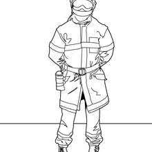 fireman coloring pages 6 free coloring pages
