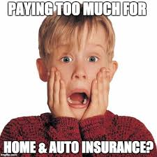 Insurance Meme - paying too much for home and auto insurance jon albert farmers agency