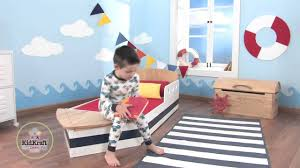 boat toddler bed youtube