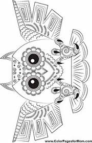 free coloring page for ella we love owls kids pinterest