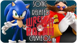 wreck ralph sega sonic related cameos