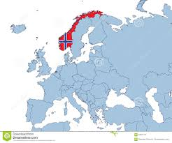 Location Of Norway On World Map by Norway Europe Map Thefreebiedepot