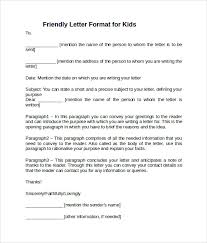 sample friendly letter format 7 download free documents in pdf
