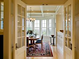 dining room window treatment ideas victorian entry by means of